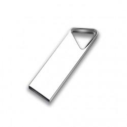 Usb flash memory stick 2.0 με μνήμη 16 GB μεταλλικό τριγωνικό