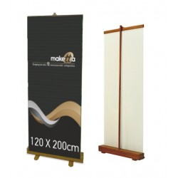 BAMBOO ROLL UP Banner 85X200